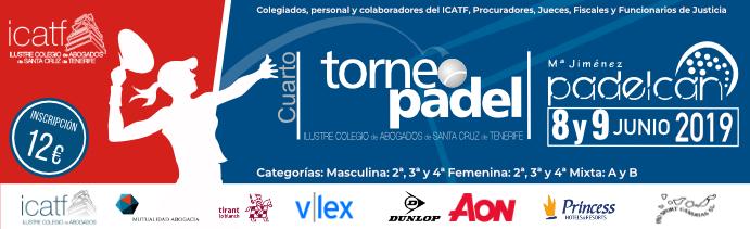 IV Torneo de Padel ICATF